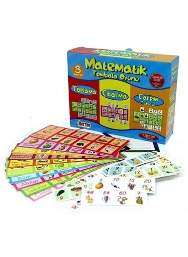 Bunjoy Diy-Toy Yayınları Matematik Tombala Eğitim Oyun 9239 Renkli